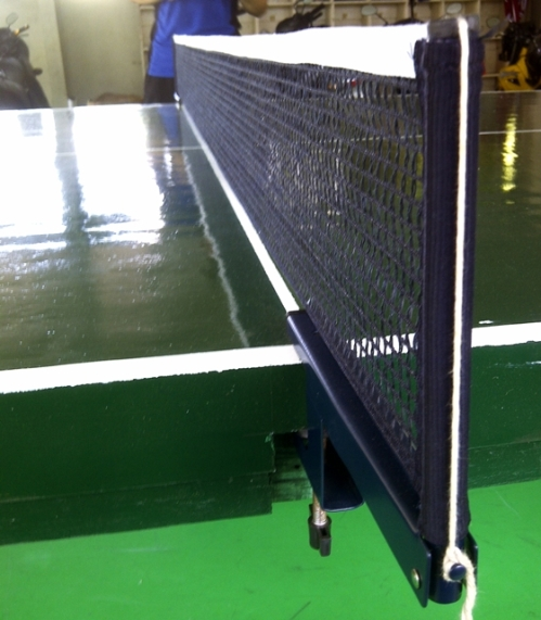 This was taken while waiting for my opponent for the semis. The last time I played table tennis was high school.